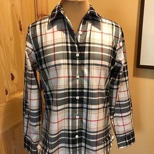 Foxcroft Tartan Plaid Button Down Shirt